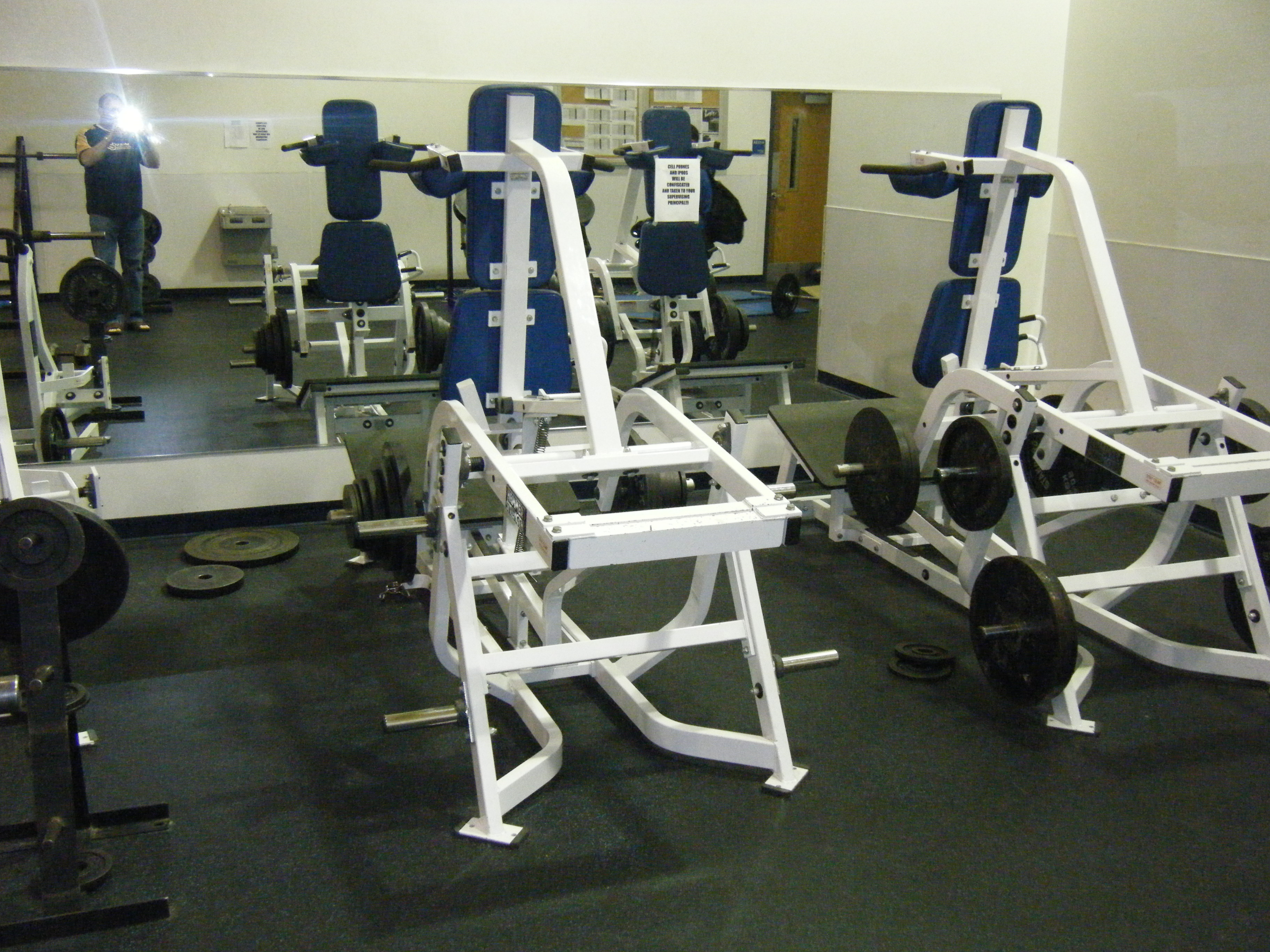 Weight Room - Francis Howell Viking Football